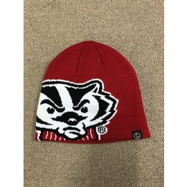 Wisconsin Badgers Youth Peek Knit Beanie Hat