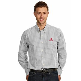 Wisconsin Badgers Men's Associate Full Button Long Sleeve Shirt