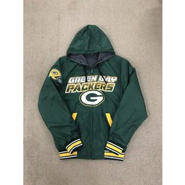 Green Bay Packers Men's Hot Shot Reversible Hoodie