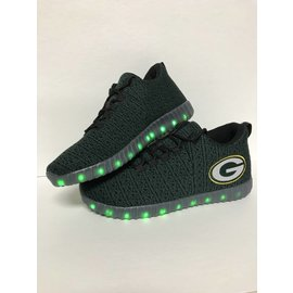 Green Bay Packers Men's Light Up Sneakers