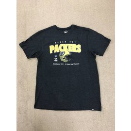 Green Bay Packers Men's Black Splitter Short Sleeve Tee
