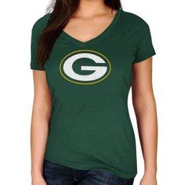 Majestic Green Bay Packers Women's Legendary Look Short Sleeve Tee