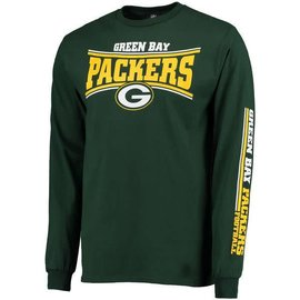 Green Bay Packers Men's Primary Receiver 2 Long Sleeve Tee