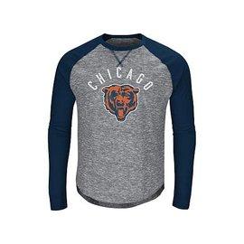 Chicago Bears Men's Corner Blitz Long Sleeve Tee