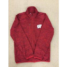 Wisconsin Badgers Men's Space Dye Track Jacket