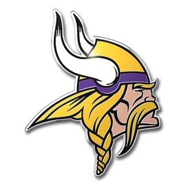 Minnesota Vikings Colored Auto Emblem
