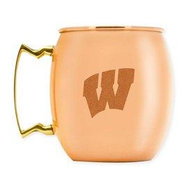 Wisconsin Badgers 16 oz Moscow Mule Mug