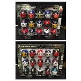 NHL Goalie Mask Tracker Set