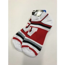 Wisconsin Badgers Women's Lotta Stripe Socks Medium