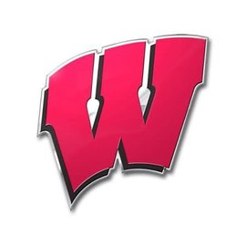 Wisconsin Badgers Red W Automotive Team Emblem