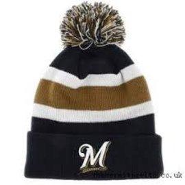 Milwaukee Brewers Navy Breakaway knit hat