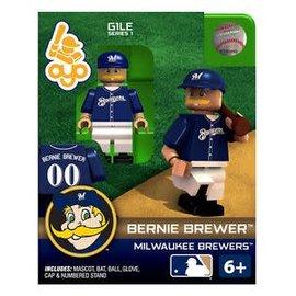 Milwaukee Brewers Oyo - Bernie Brewer