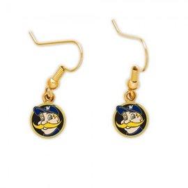 Milwaukee Brewers dangle earrings - Bernie Brewer