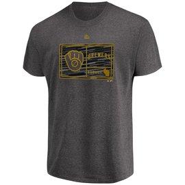 Milwaukee Brewers Men's Gameday Attitude Short Sleeve Tee