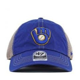 Milwaukee Brewers Trawler Clean Up Adjustable Hat