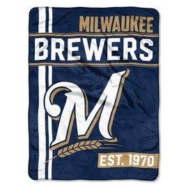 Milwaukee Brewers 50X60 Micro Raschel throw