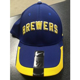 Milwaukee Brewers Tactile Flex Fit Hat