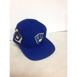 Milwaukee Brewers Men's 9-50 State Clip Snapback Adjustable Hat