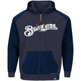 Milwaukee Brewers First Play Full zip hoodie