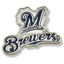 Milwaukee Brewers pin with State of WI, M, & Brewers