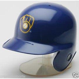 Milwaukee Brewers mini helmet - ball and glove logo