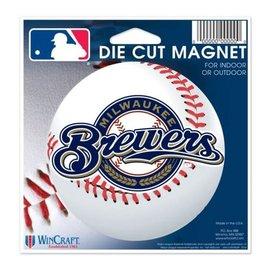 Milwaukee Brewers Diecut Magnet 4.5X6