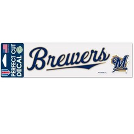 Milwaukee Brewers 3x10 Perfect Cut Decal