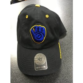 Milwaukee Brewers Black Ice Adjustable Hat