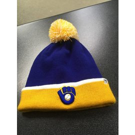 Milwaukee Brewers Baraka Two Tone Cuffed Knit Hat