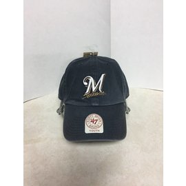 Milwaukee Brewers youth washed slouch hat