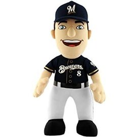 Milwaukee Brewers Ryan Braun plush doll