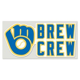Milwaukee Brewers 4x8 Perfect Cut Brew Crew Decal