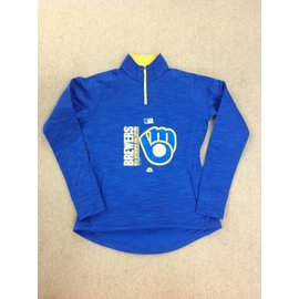 Milwaukee Brewers Women's Team Icon 1/4 Zip