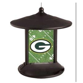 Green Bay Packers Solar Powered Light Up Birdfeeder