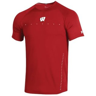 Wisconsin Badgers Men's Raid Sideline Short Sleeve Tee