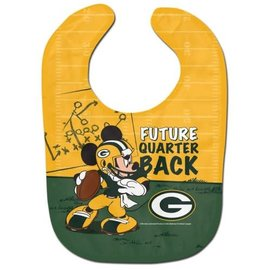 Green Bay Packers Mickey Mouse Baby Bib