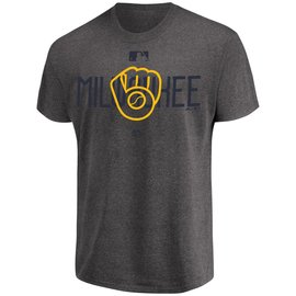 Milwaukee Brewers Men's Clubhouse Short Sleeve Tee