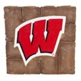 Wisconsin Badgers Garden Stone