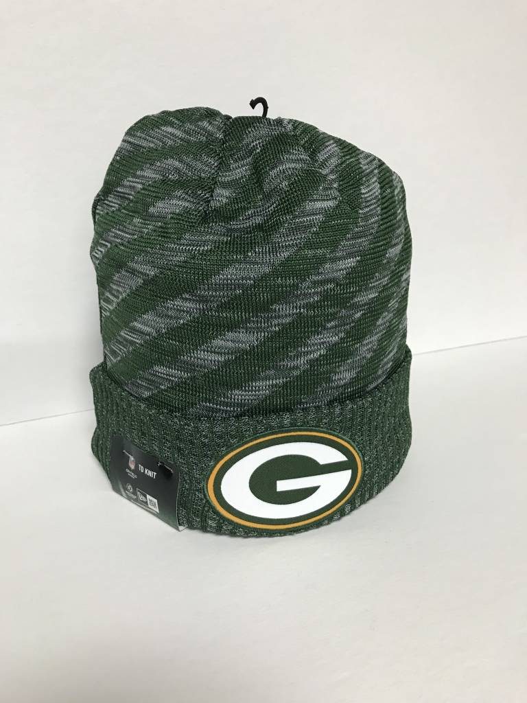 aedb19df2d0 ... wholesale green bay packers 2018 td sideline knit hat e678e 561d5