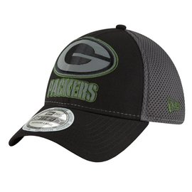 Green Bay Packers 39-30 Megaflect Black Hat