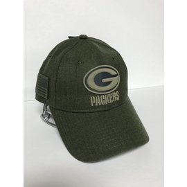 Green Bay Packers 2018 Salute to Service 9-20 Adjustable Hat