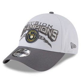 Milwaukee Brewers 9-40 Division Champs Adjustable Hat