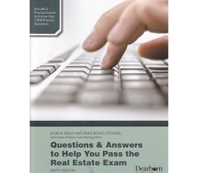 Q & A to Help You Pass Real Estate Exam