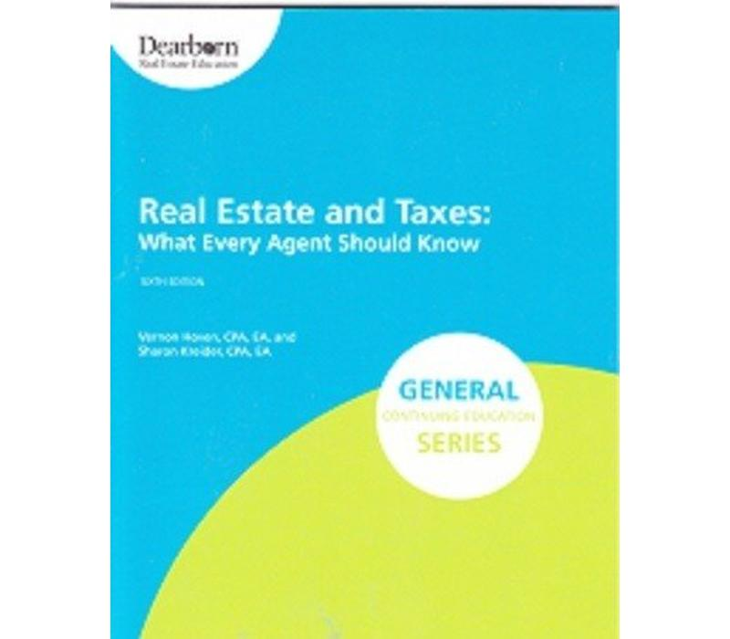 Real Estate & Taxes