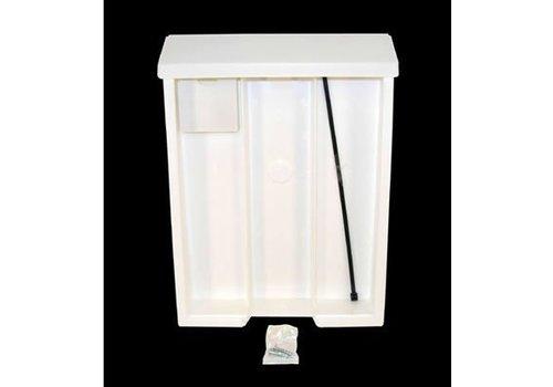 Flyer Box - Back W/Lid - White