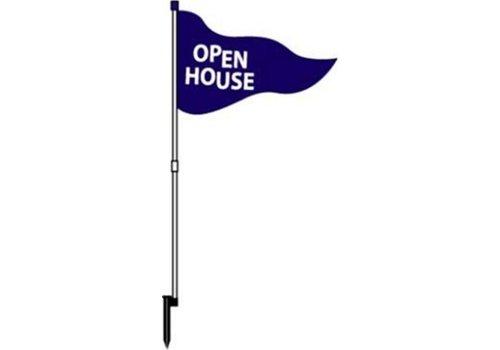 Flag - Open House - Blue