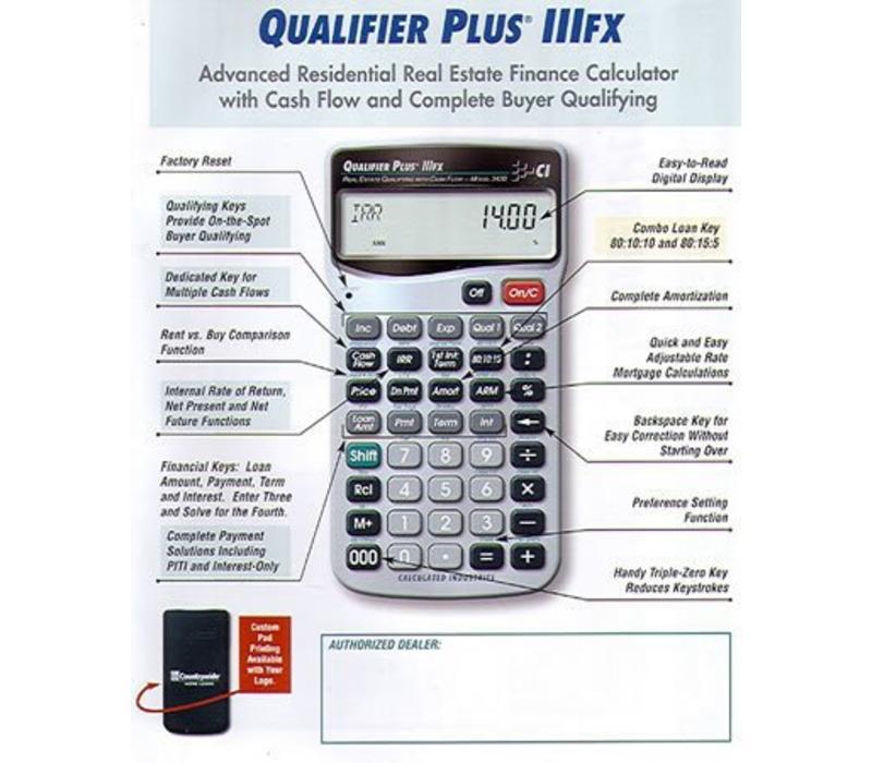 Calculator - Qualifier Plus FX