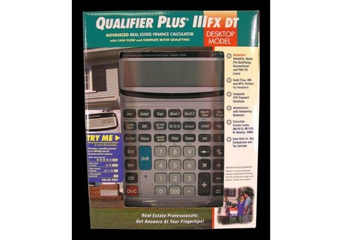 Calculator - Qualifier Plus FX - Desktop