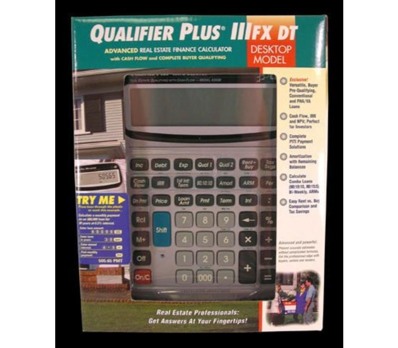 Calculator - Qualifier Plus FX - Desktop
