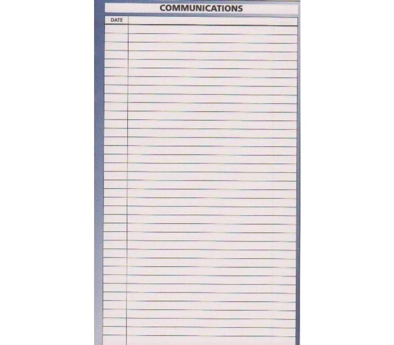 Planner Insert - Communication - Sm